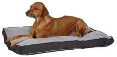 Grijze Flamingo Cushion doc bed square, 60x40x8cm grey/black, 95°wash.