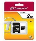 Transcend Information Transcend Flash-Speicherkarte (SD-Adapter inbegriffen) TS2GUSD