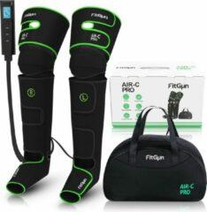 Groene Professioneel Beenmassage & Voetmassage voor Bloedcirculatie - Sport Gym Fitness - Been- voet massage Shiatsu FitGun® Air-C Pro
