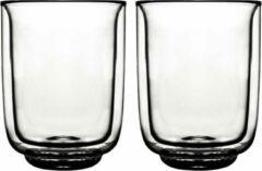 Transparante Gusta® Gusta - Dubbelwandig glas FIKA 325ml 2 stuks