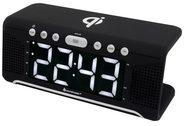 Soundmaster Uhrenradio mit QI-Ladefunktion UR800SW Soundmaster Schwarz