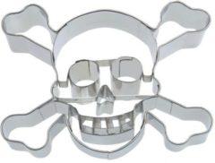 Zilveren Städter Uitsteker - piraten doodshoofd - 9cm - St�dter