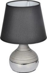 Dynamic24 Homea Keramik Tischlampe 27,5cm