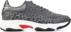 Grijze HIP Shoe Style Hip Vrouwen Sneakers - H1748 - Zwart - Maat 33