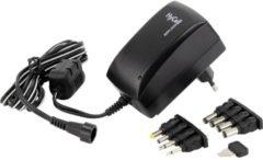 HyCell Stekkernetvoeding, instelbaar 3 V/DC, 4.5 V/DC, 5 V/DC, 6 V/DC, 7.5 V/DC, 9 V/DC, 12 V/DC 2250 mA 27 W