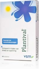 VSM Plantival tabletten - 40 st - Gezondheidsproduct
