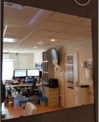 Schloss Anti condens en verwarmde spiegel 100W 60x60cm, IP44 inclusief montage beugels