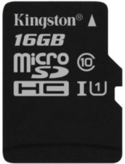 Kingston Technology Kingston microSD Canvas Select 16 GB