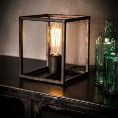 Antraciet-grijze Easy Furn Tafellamp Nox