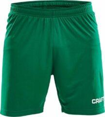 Craft Squad Short Solid Heren Sportbroek - Maat XXL - Mannen - groen/wit