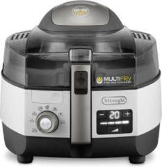 Grijze DeLonghi De'Longhi FH1396 Multifryer Extra Chef Plus - Friteuse
