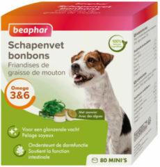 Beaphar Schapenvetbonbons Zeewier - Hondensnacks - 6 x Mini