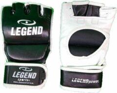 Zwarte Legend Sports Leren MMA - Bokszak handschoenen Legend UFC L