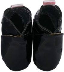 Zwarte BabySteps slofjes Babyslofjes Classic Black large