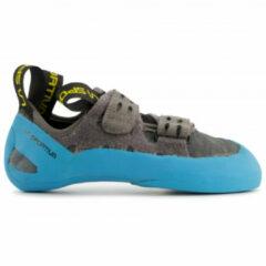 La Sportiva - GeckoGym - Klimschoenen maat 46, grijs/turkoois/zwart