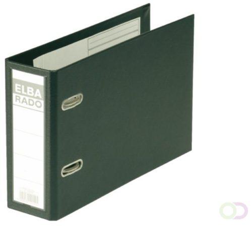Afbeelding van Elba Rado Plast ordner voor ft A5 dwars, zwart, rug van 7,5 cm