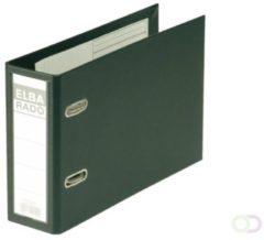 Elba Rado Plast ordner voor ft A5 dwars, zwart, rug van 7,5 cm