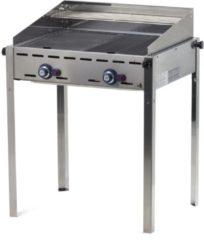 Groene Hendi Gas barbecue groen Fire, Profiline 2 branders