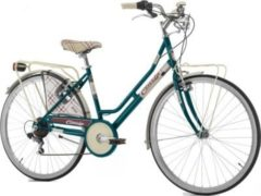 Cicli Cinzia 26 ZOLL CINZIA KILT LADY HOLLAND FAHRRAD 6-GANG Citybike Damen flaschengrün