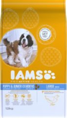 Iams Dog Puppy/Junior Large Kip 12 kg 0 - 1 Jaar