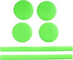 Saccon Vervangingsset Voor Etalage Standaard Groen 6-delig
