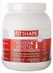 Fitshape Vanille - Power&herstel - 1200 gram - Eiwitshake