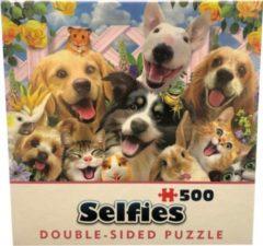 Cheatwell Double sided puzzel - Selfies - Buddies - 500 stukjes