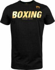 Venum Boxing VT T-Shirt - Zwart - Goud - XL