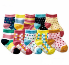 Bambino Baby hosiery kid socks 20pc=10pairs baby socks anti slip character cotton socks novelty shoe gifts for baby boy and girl slipper