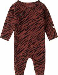 Noppies baby boxpak Mantua met zebraprint roodbruin/zwart