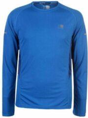 Karrimor Hardloop shirt lange mouw - Runningshirt - Heren - Cobalt blauw - XXL