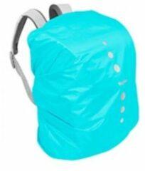 Blauwe Playshoes regenhoes rugzak polyester 6-15 liter turquoise maat S