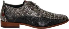 Rehab Heren Nette schoenen Greg Croco - Grijs - Maat 43