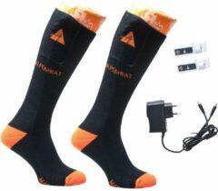 Oranje Alpenheat Unisex Wintersportsokken Maat 45-48