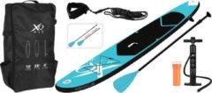 XQ Max SUP Board Set - Opblaasbaar - 305x71x10cm - blauw
