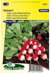 Sluis Garden Radijs (ronde halfrode) zaden - National 3
