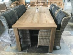 Van Kooten Tuin en Buitenleven SenS-Line Teak tafel Oxford | 240 cm