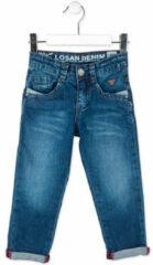 Blauwe Straight Jeans Losan 715 9016AC
