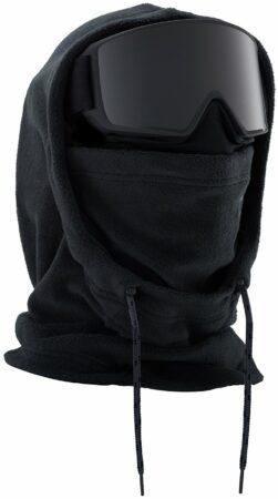 Afbeelding van Zwarte Anon MFI XL hooded clava true black
