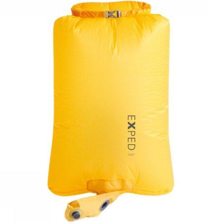 Afbeelding van Gele Exped Schnozzel Pumpbag UL - Accessoires slaapartikelen