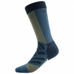 On - High Sock - Hardloopsokken maat S, grijs/zwart/grijs/zwart/zwart/purper/blauw/beige/rood/blauw/zwar