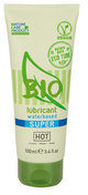 Transparante HOT BIO lubricant waterbased Glijmiddel Superglide - 100 ml