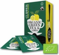 Clipper Tea - groen Tea Lemon BIO - 6 x 25 zakjes
