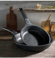 Set van 2 koekenpannen Easy Click GSW zwart