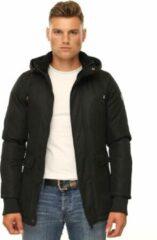 Versano Smart Max Parka Heren Winterjas XS - Zwart