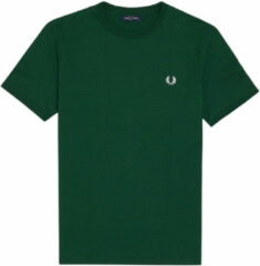Groene Fred Perry Fred Perry T-Shirt heren sportshirt