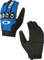 Blauwe Oakley Automatic 2.0 - Fietshandschoenen - maat XS - Blue Line