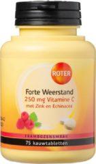 Roter Forte Weerstand 250mg Vitamine C - Voedingssupplement - 75 kauwtabletten