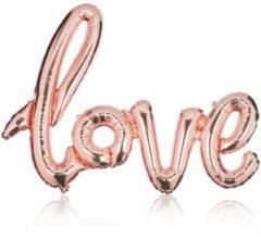 """Luftballon """"Love"""" IMPRESSIONEN kupfer"""