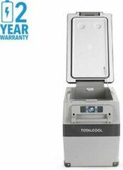 Grijze Totalcool Totalfreeze - 45 - Camping koel/vries box - 12/24/230 V - 45 Watt- fluisterstill